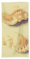 Pastel Seashell Fine Art Hand Towel