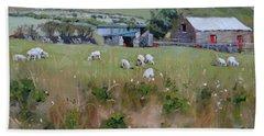Pastures Of Ireland Bath Towel