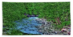 Patapsco River Bath Towel