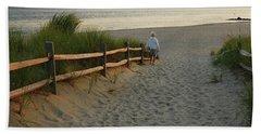 Path To The Sea Hand Towel