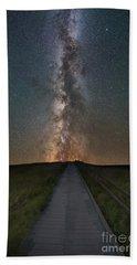 Path To The Stars  Hand Towel