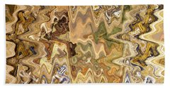Paths Unknown Abstract Bath Towel