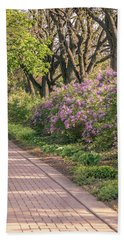 Pathway To Beauty In Lombard Hand Towel