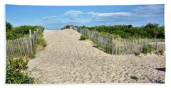 Pathway To The Beach - Delaware Bath Towel