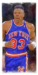 Patrick Ewing Paint Bath Towel