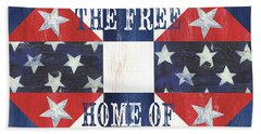 Patriotic Quilt 4 Bath Towel