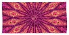 Hand Towel featuring the digital art Pattern I by Elizabeth Lock