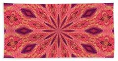 Hand Towel featuring the digital art Pattern II by Elizabeth Lock