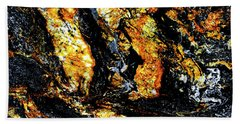 Hand Towel featuring the photograph Patterns In Stone - 185 by Paul W Faust - Impressions of Light
