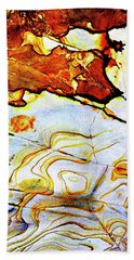 Hand Towel featuring the photograph Patterns In Stone - 201 by Paul W Faust - Impressions of Light