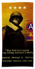 Patton Tribute Hand Towel