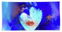 Paul Stanley Of Kiss - Portrait Hand Towel