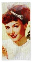 Paulette Goddard, Vintage Movie Star Bath Towel