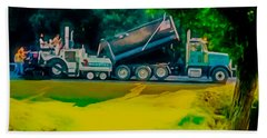 Paving Crew 2 Hand Towel by Lanjee Chee
