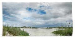 Bath Towel featuring the photograph Pawleys Island  by Kathy Baccari