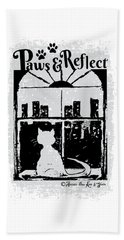 Paws And Reflect Hand Towel