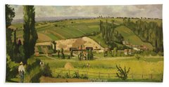 Paysage Aux Patis, Pointoise Bath Towel
