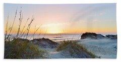 Pea Island Sunrise 12/28/16 Bath Towel