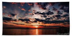Peace Along The River Hand Towel