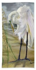 Hand Towel featuring the painting Peace In The Midst Of The Storm by Phyllis Beiser