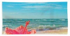 Bath Towel featuring the photograph Peace Love And Aloha by Sharon Mau