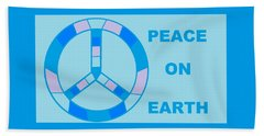 Peace On Earth 3 Bath Towel