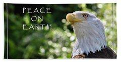 Peace On Earth Bath Towel