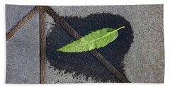 Peace On Earth Hand Towel by Steve Taylor