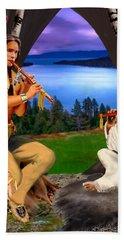 Peace With Harmony Hand Towel by Glenn Holbrook