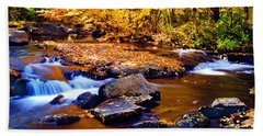 Peaceful Autumn Afternoon  Bath Towel