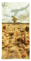 Peaceful Country Plains Hand Towel