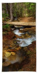 Bath Towel featuring the photograph Peaceful Crossing by James BO Insogna