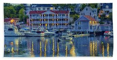 Peaceful Harbor Bath Towel