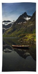 Peaceful Lofoten Hand Towel