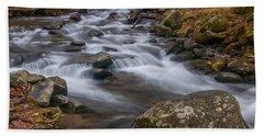 Peaceful Mountain Stream Hand Towel