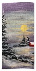 Peaceful Night Hand Towel