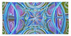 Peaceful Patience Hand Towel by Jeanette Jarmon