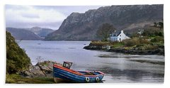 Peaceful Plockton Bath Towel
