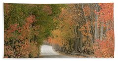 Hand Towel featuring the photograph Peaceful Sierra Morning by Sandra Bronstein