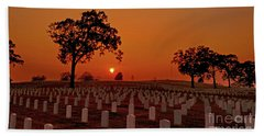 Peaceful Sunset Hand Towel