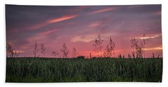 Peaceful Sunset Bath Towel
