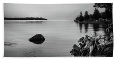 Peaceful Waters At Crystal Point, Lake Huron Mi Hand Towel