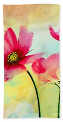 Hand Towel featuring the digital art Peacefulness by Klara Acel