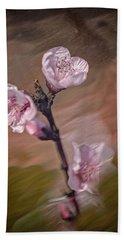 Peach Blossom Hand Towel