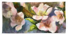 Peach Blossoms Hand Towel