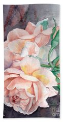 Peach Perfect - Painting Hand Towel