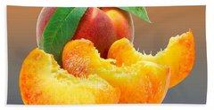 Peach Slices Customized  Hand Towel