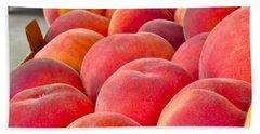 Peaches For Sale Bath Towel