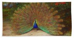 Peacock By Thorburn Hand Towel