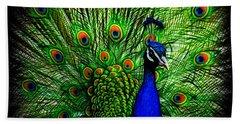 Peacock Paradise Hand Towel